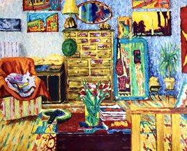 Intérieur du peintre