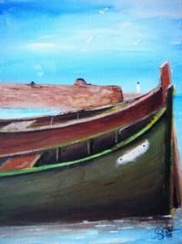 barques au mouillage