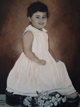 peinture portrait contemporain