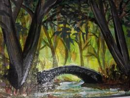 le pont caché