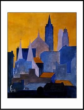 Silhouette urbaine - Réf 203-21.04 -