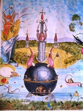 Le Jardin des délices (d'après G. Bosch)