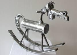 """""""Caramb-Art"""" Le cheval à bascule."""