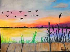 Crépuscule et horizon