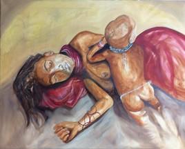 Sieste Himba
