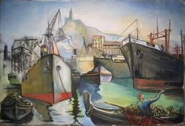 Port  de commerce de Marseille