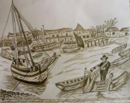 petit port de pêche autrefois