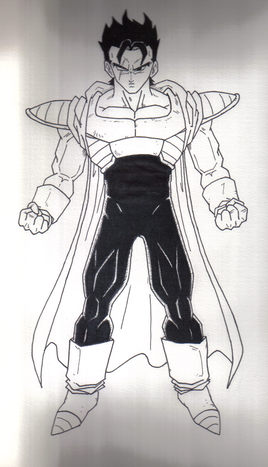 Dessin creation personnage dbz