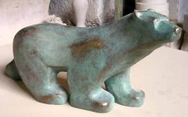 L'ours façon Pompon