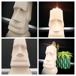 Moai..bougeoir