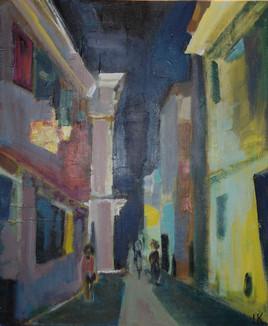 Ciutadella de nuit