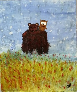 """The Daddy Bear & The Mom Owl """" Summer Time """""""