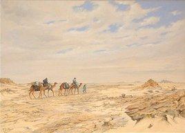 Caravane au desert