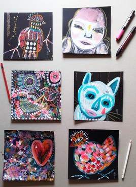 Série de petites peintures (II)