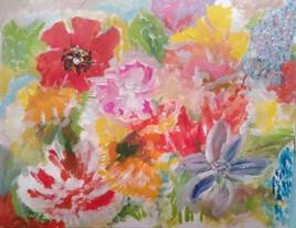 Fleurs éternelles à ma mère