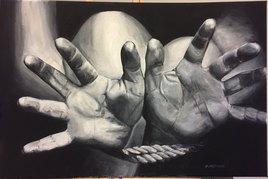 Mains ligotées N°21