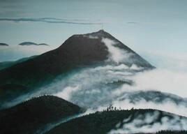 Puy-de-Dôme brume
