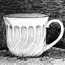 Tasse à café / Drawing Coffee cup