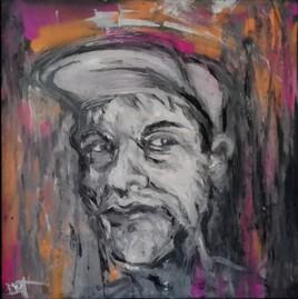 Autoportrait à la casquette