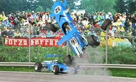 Crash à Monza