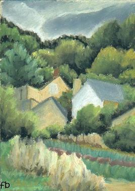 Maisons dans les arbres.