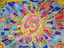 Série soleils : soleil -1