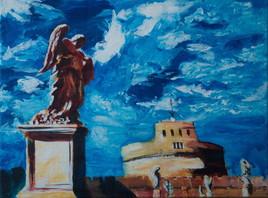 Pont St Ange - Rome