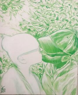 «Rapture Rupture/ Green»