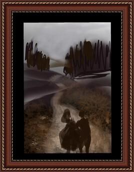Promenade à travers la campagne...
