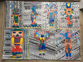 Poupées Hopi/Kachina