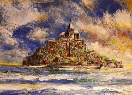 Mont Saint Michel à la MONET