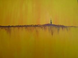 Peinture sous le soleil en Beauce