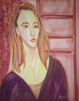 Portrait de femme .