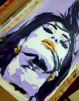 Nina - the purple one
