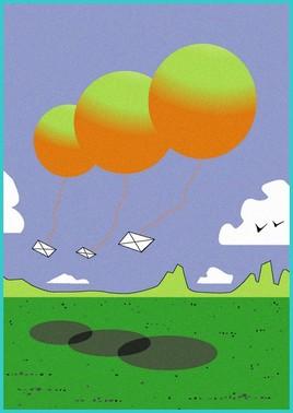 ballons post