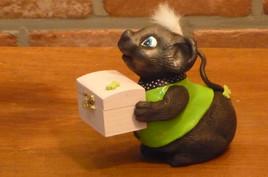 souris boîte à quenottes