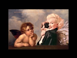 Marilyn revisite pour la 5ème fois les chérubins de Raphael  :)