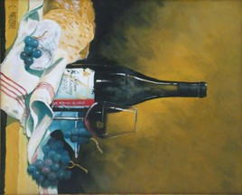 vignoble et chateau en touraine