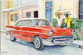 2019-07 Une belle américaine à la Havane