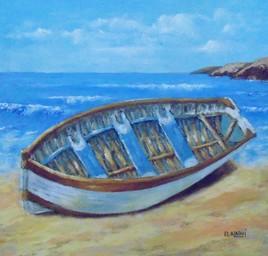 la barque.