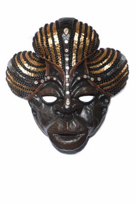 Zita - Masque ethnique -