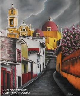 Une rue au Mexique