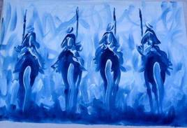 أرغان حضارة عش الطائر (حركة الفرسان)