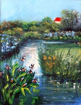 la rivière aux iris