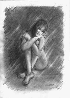 sophie dessin de nu