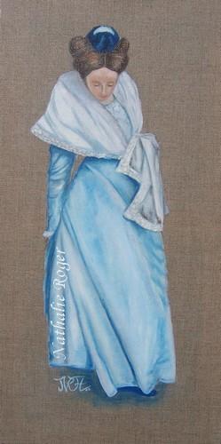 Arlésienne bleu pastel