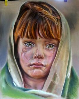 Petite réfugiée  Afghane (2)
