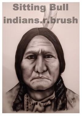 Sitting Bull ... indians.r.brush