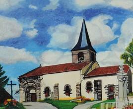 Eglise de Comps (Limousin)