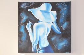 La Dame en bleue.